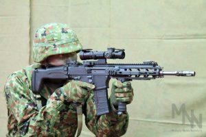 自衛隊新型小銃 20式5.56mm小銃 報道公開_サムネイル
