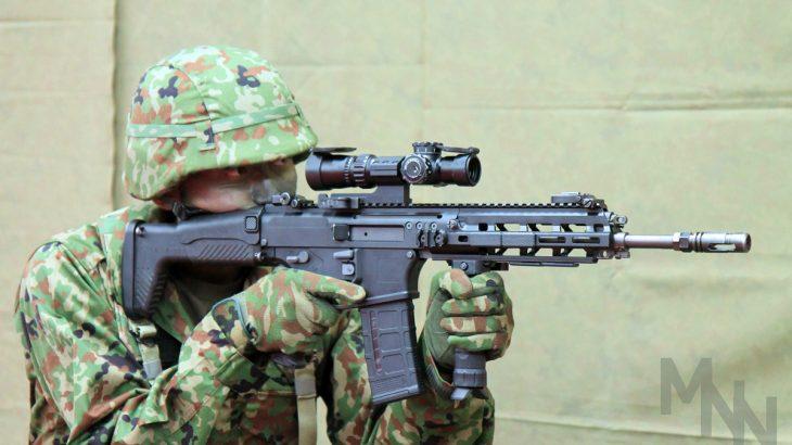 自衛隊新型小銃 20式5.56mm小銃 報道公開
