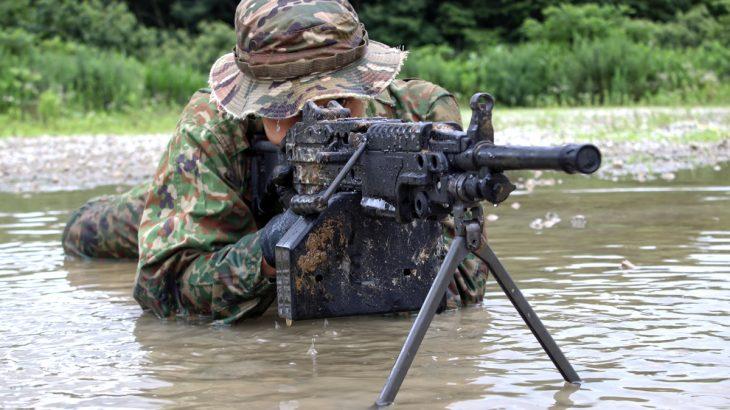 タクティカルラバーガン(TRG) 5.56mm機関銃 MINIMI